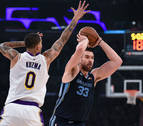 Marc Gasol asalta el Staples Center; Willy consigue su primer doble-doble