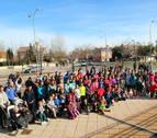 Deporte y solidaridad, de la mano en Tudela