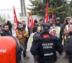 Barkos admite que en la defensa del orden público hay situaciones