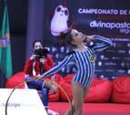 Polémica por la vestimenta de unas gimnastas en el Navarra Arena