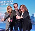 Beltrán repetirá como cabeza de lista del PPN al Parlamento y Carmen Alba será candidata en Pamplona