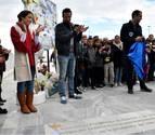 Los padres de Gabriel Cruz inauguran el espacio 'Ballena' dedicado a su hijo