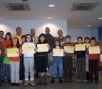 2008: Premios para los autores de las mejores cartas en el certamen Sacapunta