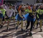 180 personas corren y patinan en Noáin por los niños con cáncer