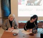La compositora Teresa Catalán dona su fondo documental al Archivo de Navarra