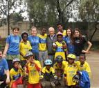 Una asociación navarra establece una escuela de patinaje al norte de Etiopía