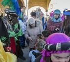 La cabalgata de los Reyes Magos camino de los valles de Allín y Metauten