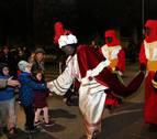Los Reyes Magos llegan a Sangüesa con un amplio cortejo