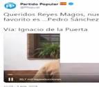 El PP retira un vídeo en el que un niño pide a los Reyes la muerte de Sánchez