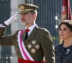 El Rey presidirá este lunes la Pascua militar, un día antes de la investidura de Sánchez
