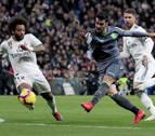 Merino se agranda en el Bernabéu y baja al Real Madrid del tren de la Liga