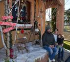 Rosa Jarauta y Lorena Simón, las mejores fachadas navideñas de Murchante