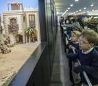 Más de 32.000 personas han visitado la exposición de belenes en Baluarte