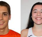 Tafalla elige a María Cañardo y Unai Martínez mejores deportistas