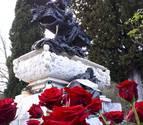 Rosas para Gayarre en el Roncal a los 175 años de su nacimiento