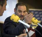 Navarra será la comunidad donde más se incrementará el gasto de Fomento, según el ministro Ábalos