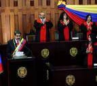 Maduro inicia su segundo mandato en Venezuela sin apenas apoyo internacional