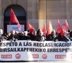 CC OO y UGT protestan contra el reparto de fondos adicionales
