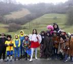El carnaval de Uitzi se vive en familia