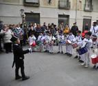 Tafalla abre la Semana Pre San Sebastián al son de la tamborrada