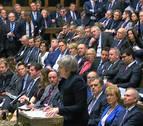 El Parlamento británico rechaza el acuerdo de May con la UE para el Brexit