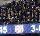 ¿Con quién coincidió Amaia Romero en el palco del Camp Nou?