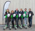 La Universidad de Navarra instala 50 patinetes eléctricos en el campus de Pamplona