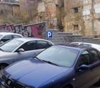Tafalla habilita en Santa María una zona de aparcamiento para residentes