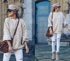 Cómo combinar un pantalón blanco en invierno