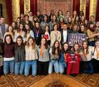 Herrera destaca el esfuerzo de las deportistas navarras y su impulso a la visibilización