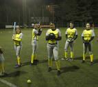 Nueve navarras tienen que marcharse los fines de semana a Orio para practicar sófbol