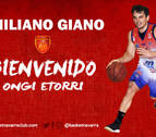El base uruguayo Emiliano Giano, nuevo jugador de Basket Navarra