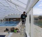 Las piscinas de Orkoien reabrirán la próxima semana con nueva cubierta