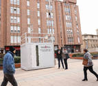 Tudela estrena su primera estación urbana para medir la calidad del aire