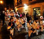 La tamborrada de Tafalla celebra su séptima edición