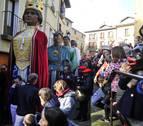 Cientos de personas honran en Tafalla a San Sebastián