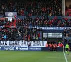 Multa de 65.000 euros a Osasuna por permitir el despliegue de pancartas en El Sadar