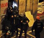 Una concentración respalda a los procesados por la ocupación de Rozalejo