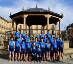 El Club Triatlón Zona Media echa  a andar con veintiséis deportistas
