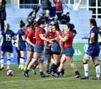 Tres leonas navarras de la selección española de rugby muerden a Escocia