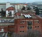 Cierre temporal de parte del aparcamiento de hospitales