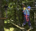 Lekunberri realiza gestiones para rehabilitar el parque de aventura Beigorri