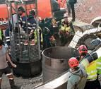 Los mineros excavan el primer metro de galería en busca de Julen