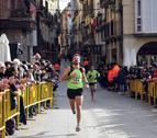 Sergio Fernández y Gema Olave, los más rápidos en las 'X Millas Falces-Peralta'