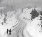 Semana lluviosa y ventosa en Navarra, con nieve en cotas medias y montaña
