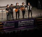 Puro Relajo pone a Noáin en pie en su concierto solidario en favor del Síndrome de Dravet