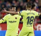 Messi sentencia a un Girona con diez