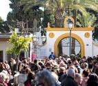Cientos de personas acuden a dar su último adiós a Julen en Totalán