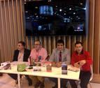 Peralta, Marcilla, Falces y Funes llevaron hasta Fitur su proyecto de vía verde