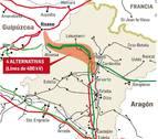 Red Eléctrica plantea 4 alternativas para el nuevo eje Navarra-País Vasco